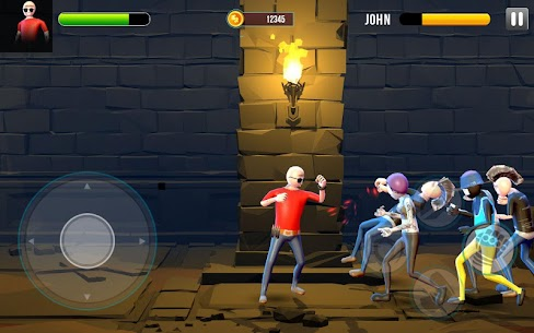 Stickman Street Fighter : Stick Fight War Hack for iOS and Android 3