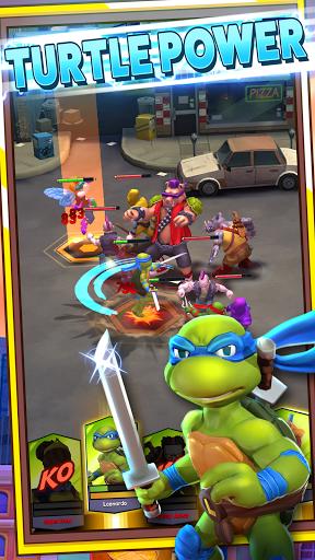 Télécharger Gratuit TMNT: Mutant Madness APK MOD (Astuce) screenshots 1