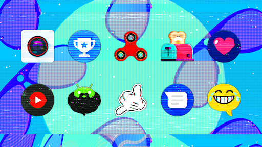 Download APK: Glitch – Icon Pack v10.2 [Patched]
