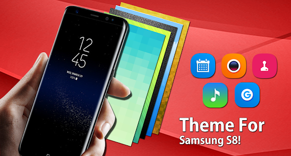 Theme for Samsung Galaxy S8 launcher, HD wallpaper 1.0.5 [MOD APK] Latest 2