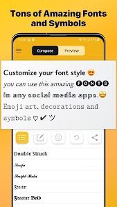 Font Changer - Cool Fonts Keyboard, Stylish Text 6.2