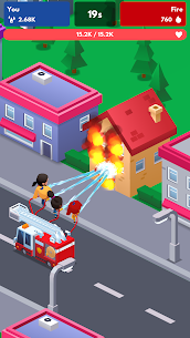Idle Firefighter Tycoon Mod Apk- Fire Emergency Manager (Unlimited Money) 7
