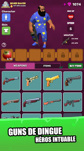 Code Triche Diableros: Zombie RPG Shooter apk mod screenshots 2