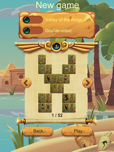 Doubleside Mahjong Cleopatra 2.9 screenshots 13