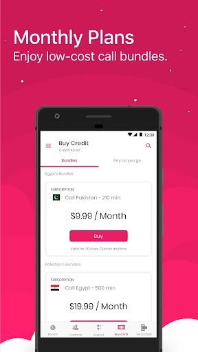 International Calling App   BlaBla Connect modavailable screenshots 1
