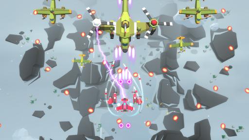 Burning Sky: Aircraft Combat 3D  screenshots 18