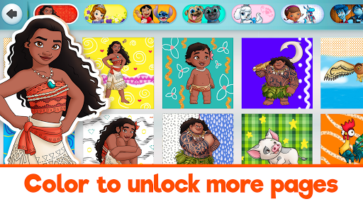 Disney Coloring World - Color & Play Kids Games 7.1.0 screenshots 21
