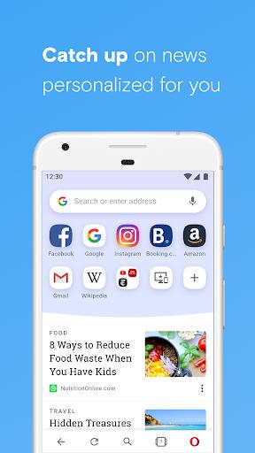 Opera browser beta  Screenshots 2