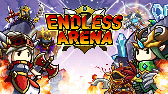 Endless Arena Mod Apk- Idle Strategy Battle (Unlimited Gold) 1