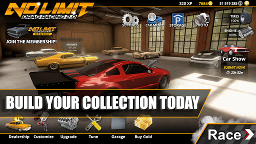 No Limit Drag Racing 2 1.0.1 screenshots 9