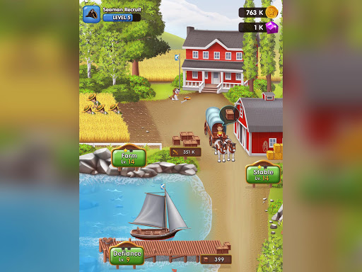 Pocket Ships Tap Tycoon: Idle Seaport Clicker modavailable screenshots 14