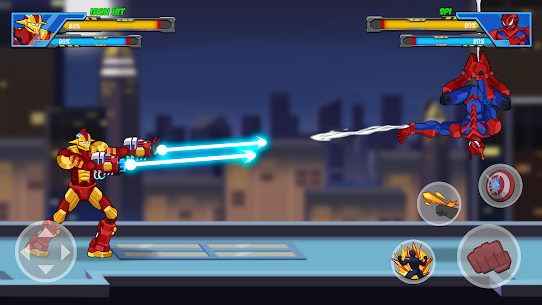 Robot Super: Hero Premium Hack for iOS and Android 1