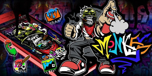 Monkey Graffiti Theme 1.1.3 screenshots 4
