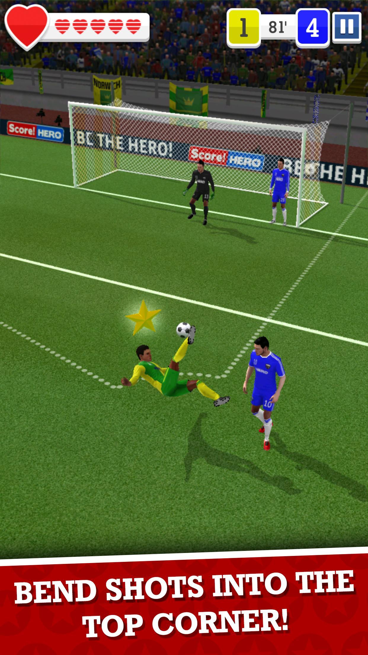 Score! Hero hack apk mod By Google play