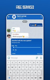 Sigma Messenger, Free Secure Voice & Video Calls 4