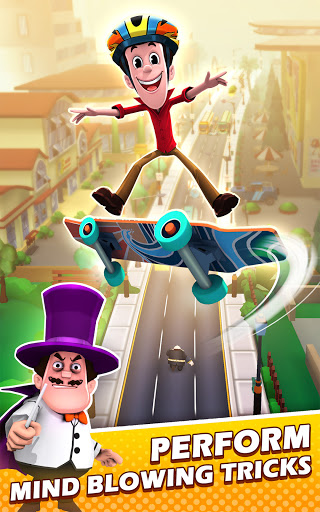 Smaashhing Simmba - Skateboard Rush android2mod screenshots 20