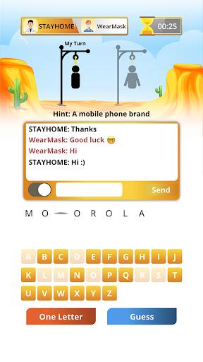 Hangman Multiplayer - Online Word Game 7.8.1 screenshots 2