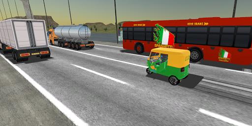 Tuk Tuk Rickshaw:  Auto Traffic Racing Simulator screenshots 17