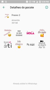 Stickers de amor para WhatsApp 💕 - WAStickerApps Screenshot