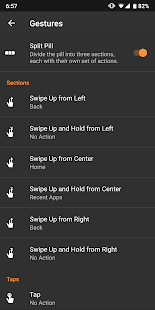 [Android 5-10] Navigation Gestures–Swipe Controls Screenshot