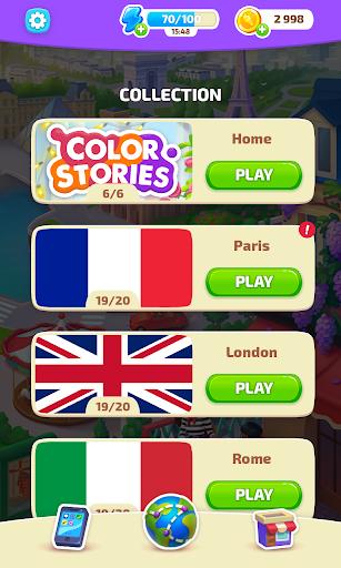 Color Stories - color journey, paint art gallery apkpoly screenshots 20