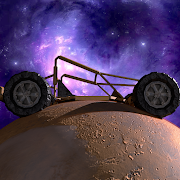 Planet Racing - 3D galaxy driving in space gravity app thumbnail
