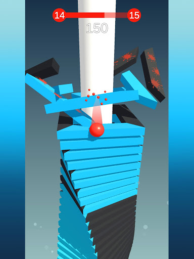 Stack Ball - Blast through platforms apkslow screenshots 20