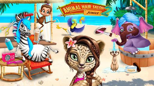 Jungle Animal Hair Salon 2 screenshot 2