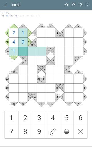 Kakuro (Cross Sums)  screenshots 17