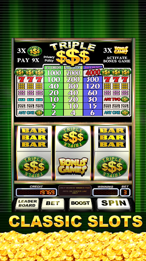 Triple Gold Dollars Slots Free screenshots 3