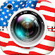 4th of July Photo Editor - American Flag Stickers - Androidアプリ