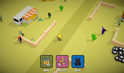 Zombie Battle Royale 3D io game offline and online screenshots 10