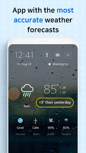 First Weather - forecast 3.0.7 Screenshots 1