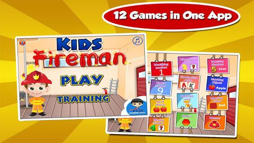 Kids Fire Truck Fun Games 3.15 screenshots 1