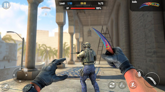Real Commando Shooting 3D Games-Offline Games 2021 1.34 Screenshots 15