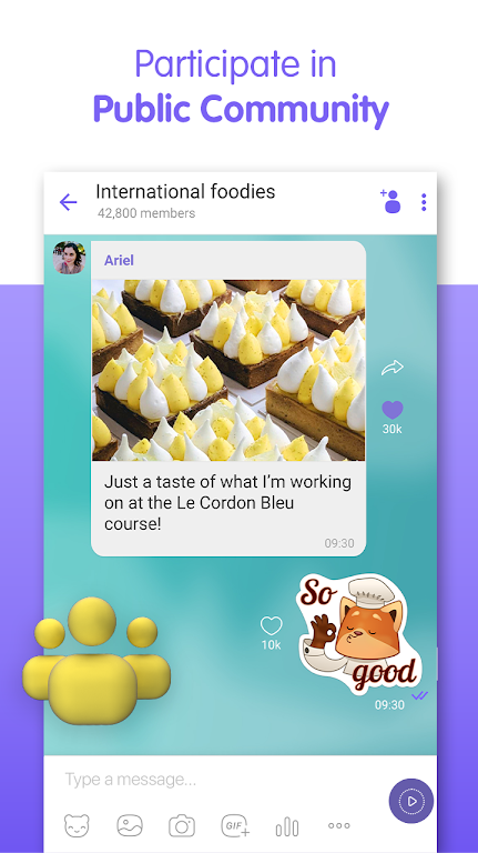 Viber Messenger - Free Video Calls & Group Chats  poster 5
