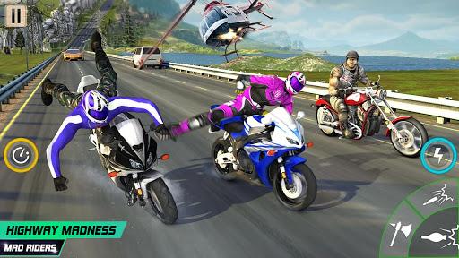 Highway Death Moto- New Bike Attack Race Game 3D  screenshots 12
