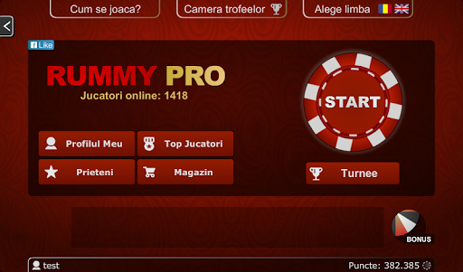 Rummy PRO - Remi Pe Tabla 6.0.4 Screenshots 5