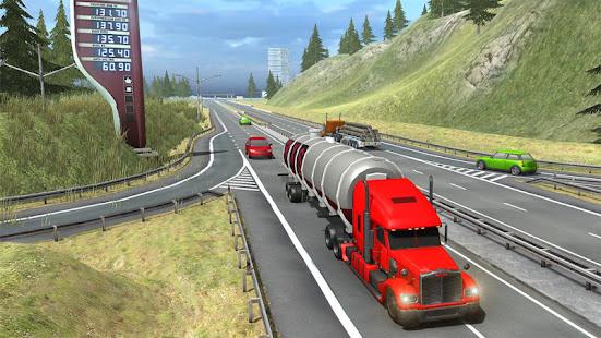 Truck Simulator Transporter Game - Extreme Driving Mod Apk