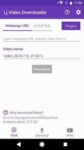 Download APK: Lj Video Downloader (m3u8, mp4, mpd) v1.0.70 [Mod]