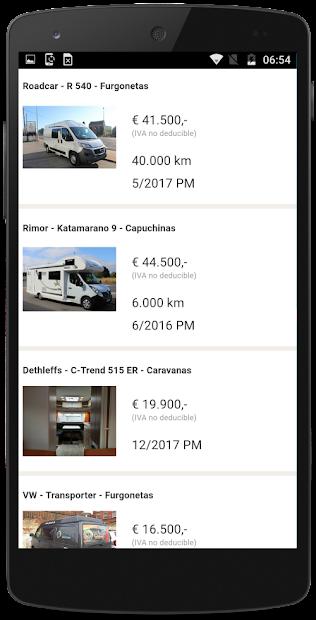 Captura de Pantalla 3 de Caravanas segunda mano España para android