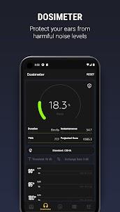 Decibel X PRO: Sound Meter dBA, Noise Detector APK 3