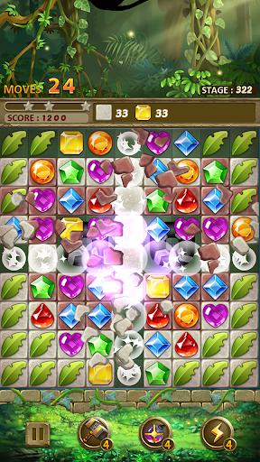 Jewels Jungle : Match 3 Puzzle apktram screenshots 8