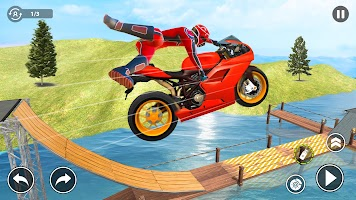 Super Bike Stunt Games: Mega Ramp Stunts Game