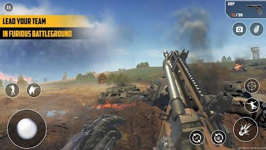 Anti-Terrorist FPS Shooting Mission:Gun Strike War Mod Apk (God Mode) 4