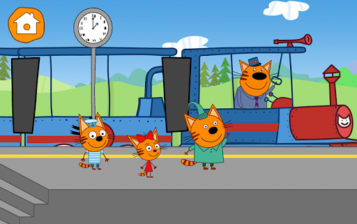Kid-E-Cats Circus Games! Three Cats for Children  screenshots 24