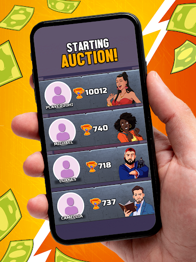 Bid Wars Stars - Multiplayer Auction Battles apkslow screenshots 14