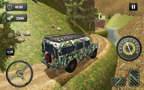 US OffRoad Army Truck driver 2021 8