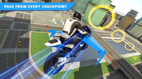 Flying Bike Stunt Racing- Impossible Stunt Games 2.1 Screenshots 6