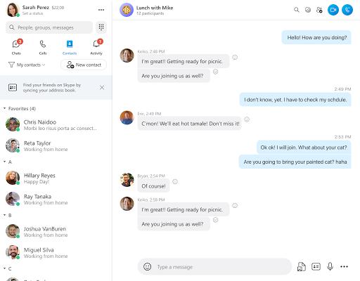 Skype - free IM & video calls  Screenshots 6